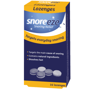Snoreeze Lozenge 16 Single Pack
