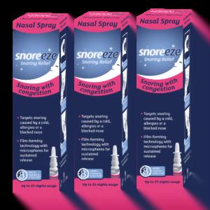 Snoreeze Nasal Spray Triple Pack