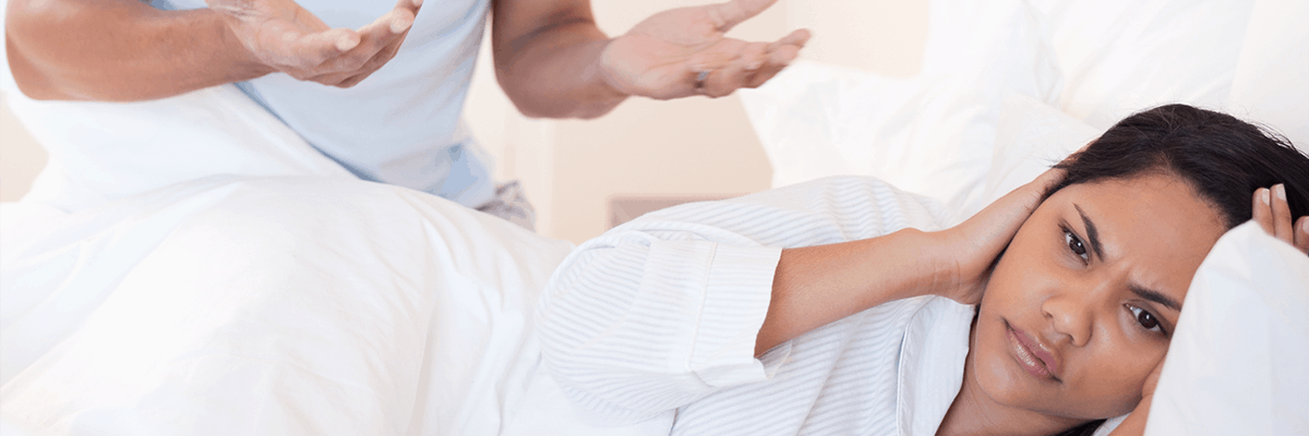 How to talk to your partner about their snoring (without fighting)